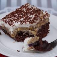 Ciasto kostka alpejska w wersji wegańskiej