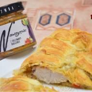 Pierś z kurczaka&Wawrzyniec zapiekane w cieście francuskim