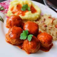 Mini Klopsiki w Sosie Pomidorowym