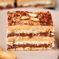 Ciasto czekoladowo-orzechowe bez pieczenia