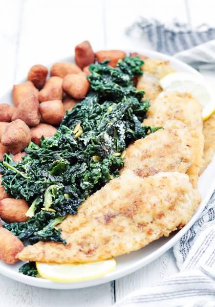 Obiad na środę – gnocchi, ryba, surówka
