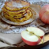 Bezglutenowe placuszki, racuchy jabłkowe