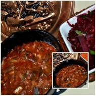 Grzyby z kminkiem i kardamonem w pomidorach