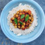 Chana masala - curry z ciecierzycą