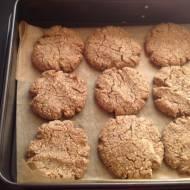 Ciasteczka migdałowe z masłem orzechowym - low carb