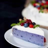 Ciasto z fioletowych ziemniaków