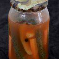 Ogórki na zimę. W ketczupowej zalewie