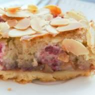 Tarta Bakewell Nigelli, z malinami i migdałami
