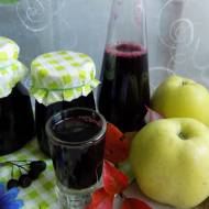 Sok z aronii i jabłek