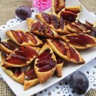 Ekspresowe ciasteczka francuskie ze śliwką