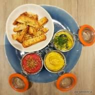 Pomysł na przekąskę – hummusowe trio