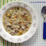 Zupa kurkowa z makaronem orzo