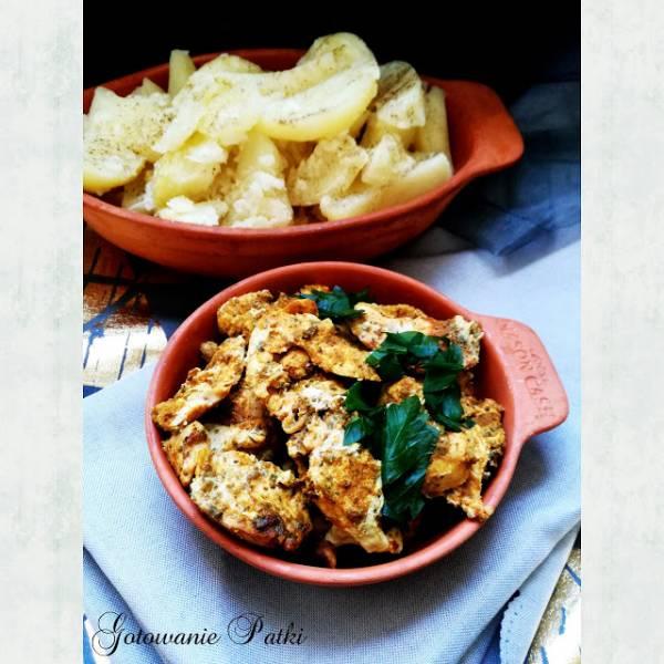 Pieczony filet z kurczaka TIKKA