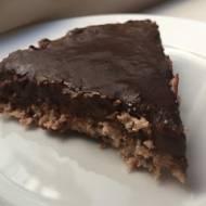 Czekoladowe ciasto bez pieczenia, wegańskie, bez glutenu