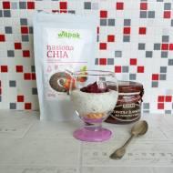 Jogurtowa chrupka z powidłami