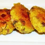 Kotlety z kaszy jaglanej z pieczarkami (wegańskie)