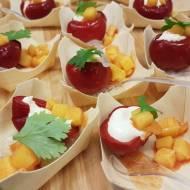 Papryczka cherry nadziewana serem