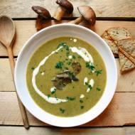 Zupa grzybowa krem z leśnych grzybów