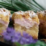 Ciasto kruche z gruszkami i pianką