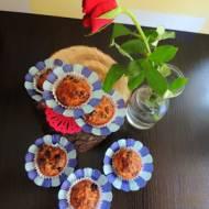Muffiny daktylowo - rodzynkowe