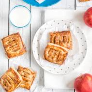 Ciastka francuskie z jabłkami