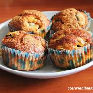 Muffiny imbirowe ze śliwkami