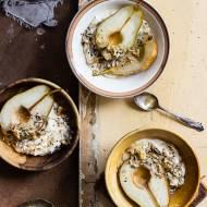Pieczone gruszki z cynamonowym mascarpone