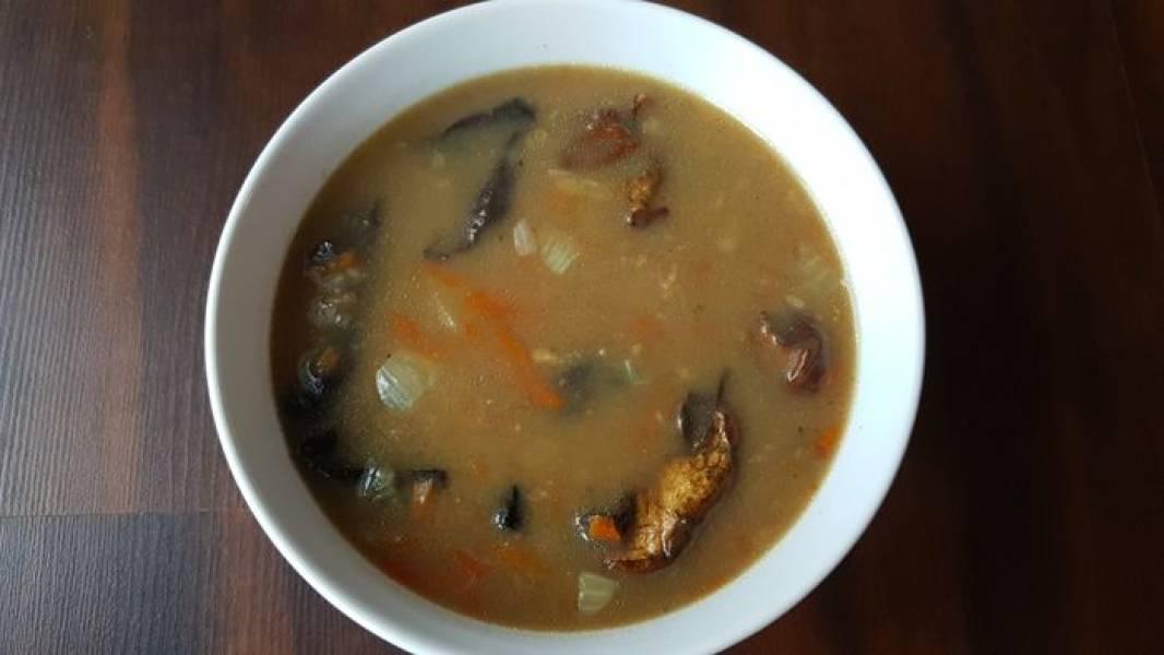Zupa grzybowa (na domowym rosole)
