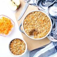 Pieczona owsianka marchewkowo-jabłkowa