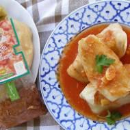 szybkowar-pyszne gołąbki z sosem ze świeżych pomidorów...