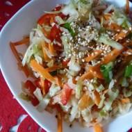 Kapusta kiszona po koreańsku, czyli kimchi z białej kapusty