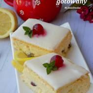 cytrynowy sernik gotowany na herbatnikach- dziecinnie prosty