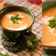 Zupa z soczewicą z mlekiem kokosowym
