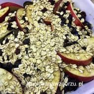 Zdrowy deser czyli zapiekane jesienne owoce