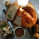 Łatwy bezglutenowy chleb ziemniaczany z nasionami babki jajowatej ( Vege & Gluten free)
