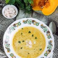 Zupa porowo-dyniowa