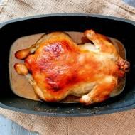 Kurczak w miodowo musztardowej glazurze