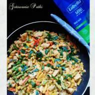 Orientalne Curry z Makaronem Lubella