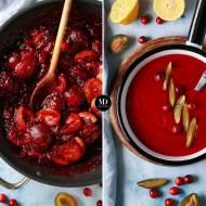 Sos ze śliwek i żurawin – sos do kaczki