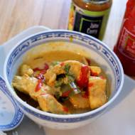 Żółte curry z kurczakiem i dynią
