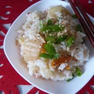Kimchi bokumbap, czyli kimchi smażone z ryżem