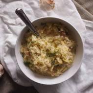 Śmietankowa kapusta z boczkiem / Creamy cabbage with bacon