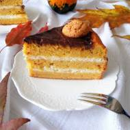 Tort dyniowo-migdałowy (Torta di zucca e mandorle)