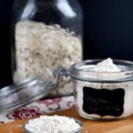 Domowa mąka owsiana
