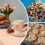 Zdrowe ciastka owsiano-bakaliowe