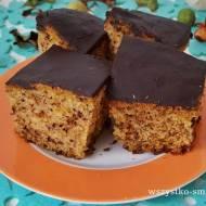 Ciasto z tartej dyni i czekolady