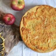 Szarlotka sypana z kaszą manną, czyli ciasto, które robi się samo ;p