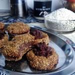 Ciastka z AMARANTUSEM I KREMEM CZEKOLADOWYM (bez mąki, bez cukru, wegańskie, bezglutenowe)