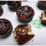 Muffinki kakaowo - serowe