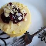 Sernik z mleczka kokosowego i dyni (bez mąki, bez cukru, bez jajek)